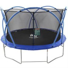 ACTIVE FUN 14FT TRAMPOLINE WITH ENCLOSURE COVER & LADDER
