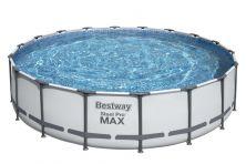 BESTWAY STEEL PRO MAX ROUND FRAME POOL (5.49 X 1.22 M)