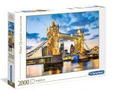 CLEMENTONI TOWER BRIDGE AT DUSK 2000 PCS PUZZLE