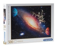 CLEMENTONI INTERNATIONAL SPACE STATION 500 PCS PUZZLE