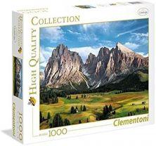 CLEMENTONI THE CORONATION OF THE ALPS 1000 PCS PUZZLE