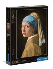 CLEMENTONI MUSEUM GIRL WITH PEARL E.V. 1000 PCS PUZZLE