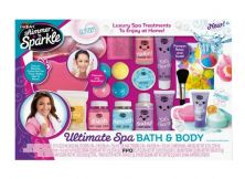 CRA-Z-ART SHIMMER N SPARKLE DELUXE BATH AND BODY SUPER SPA