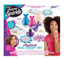 CRA-Z-ART SHIMMER N SPARKLE NAILS AND BODY TATTOOS
