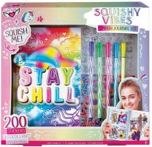 FASHION ANGELS STAY CHILL SLOTH SQUISHY ACTIVITY JOURNAL