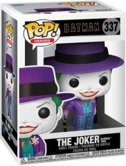 FUNKO POP HEROES BATMAN 1989 JOKER WITH HAT WITH CHASE