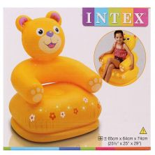 INTEX INFLATABLE HAPPY ANIMAL CHAIR ASSORTED