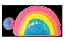 ISCREAM SHIMMERING RAINBOW SMALL COSMETIC BAG
