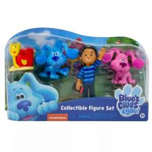 BLUES CLUES AND YOU COLLECTIBLE FIGURE SETS
