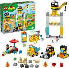LEGO DUPLO TOWER CRANE & CONSTRUCTION