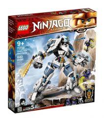 LEGO NINJAGO ZANE'S TITAN MECH BATTLE