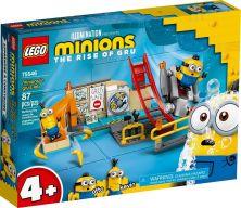 LEGO MINIONS IN GRU'S LAB