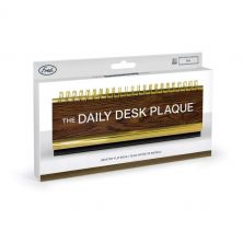 FRED & FRIENDS DAILY DESK PLAQUE