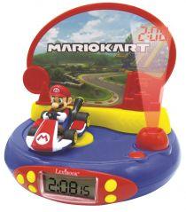LEXIBOOK MARIO KART 3D CHARACTER PROJECTOR CLOCK
