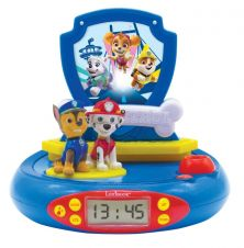 LEXIBOOK PAW PATROL 3D CHASE PROJECTOR CLOCK