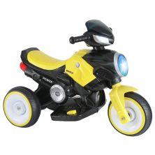 LITTLE ANGEL ELECTRIC MOTORCYCLE YELLOW