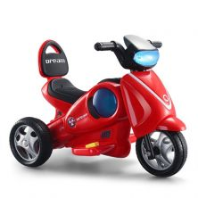 LITTLE ANGEL KIDS RIDE-ON MOTORCYCLE RED