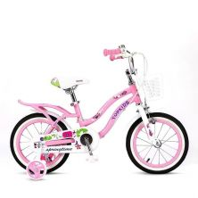 LITTLE ANGEL 18-INCH BICYCLE - X1 PRINCESS PINK