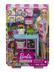 BARBIE FLORIST DOLL AND PLAYSET
