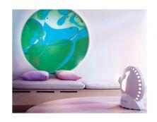 MATHMOS SPACE PROJECTOR WHT UK W/BLU/GRN LAVA LAMP