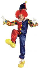 RUBIES COSTUME CHILD BUBBLES THE CLOWN (SMALL)