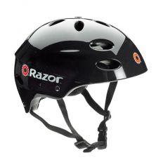 RAZOR V17 CHILD HELMET GLOSS BLACK