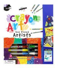 SPICEBOX PETITE PICASSO CRAYON ART