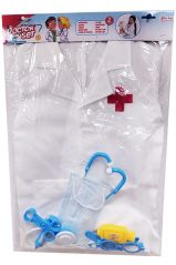 TOI-TOYS COSTUME DOCTOR DRESS-UP SET WITH ACCESSORIES