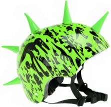 TOI-TOYS PRO SPORTS JUNIOR BICYCLE HELMET WITH SPIKES
