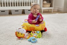 V-TECH TUMMY TIME DISCOVERY PILLOW