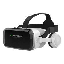 VR SHINECON GLASSES W/HEADPHONE BLACK/SILVER