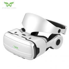 VR SHINECON GLASSES W/HEADPHONE SILVER
