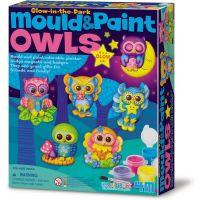 4M MOULD & PAINT GLOW OWL