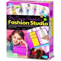 4M KIDZ MAKER MY DESIGN PORTFOLIO FASHION STUDIO
