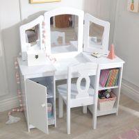 KIDKRAFT DELUXE VANITY TABLE & CHAIR