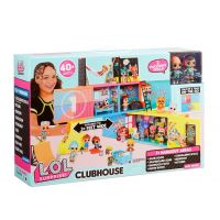 LOL SURPRISE CLUBHOUSE PLAYSET WITH 40 PLUS SURPRISES