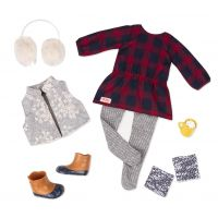 OUR GENERATION DELUXE TUNIC WITH VEST OUTFIT
