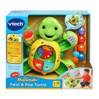 V-TECH POP-A-BALL ROCK & TAP TURTLE