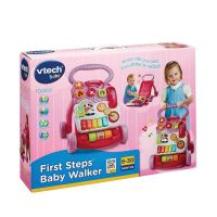 V-TECH BABY FIRST STEP PINK BABY WALKER