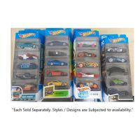 HOTWHEELS BASIC 5 CARS PACK