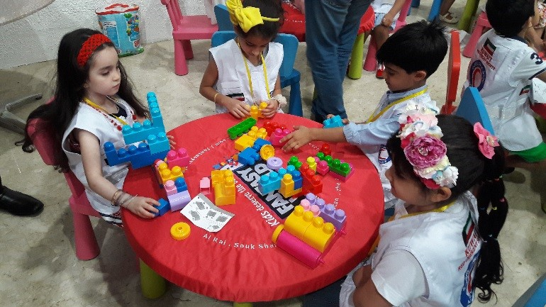 """Kuwait Red Crescent Society's """"The Little Volunteer"""" Open Day"""